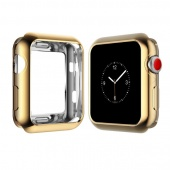 Чехол для Apple Watch 42 мм Силикон Gold