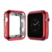 Чехол для Apple Watch 38 мм Силикон Red