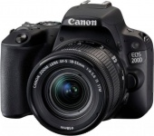 Canon EOS 200D Kit Black 18-55mm